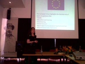 Tamara Guirao, CAAC Coordinator